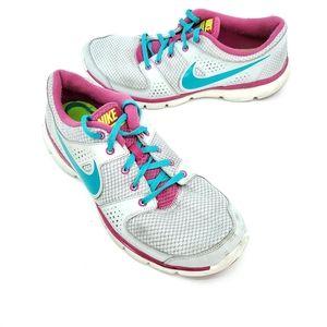 Nike womens flex experience run gray blue
